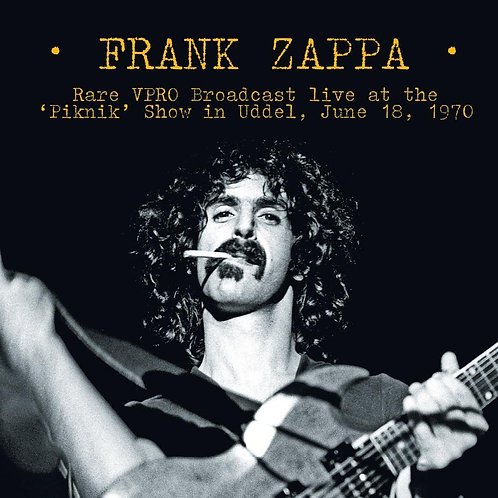 FRANK ZAPPA LP Rare VPRO Broadcast Live At The 'Piknik' Show In Uddel 1970