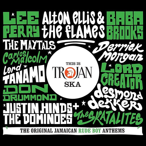 VARIOS 2XCD This Is Trojan Ska (The Original Jamaican Rude Boy Anthems)