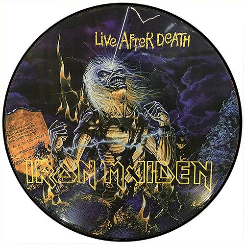 IRON MAIDEN LP Live After Death (Picture Disc Brazil)