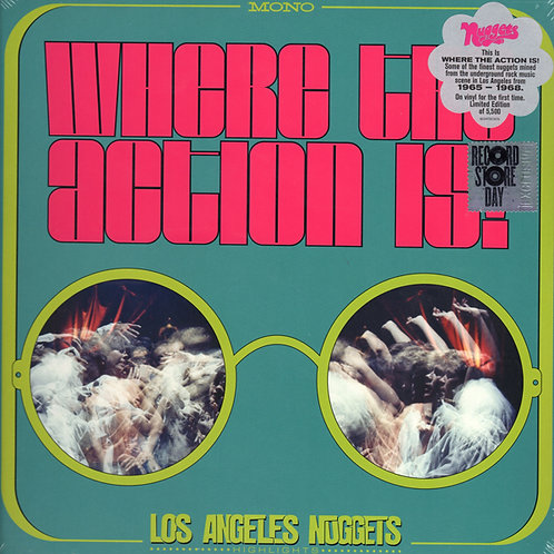 VARIOS 2XLP Where The Action Is! Los Angeles Nuggets Highlights (RSD 2019)