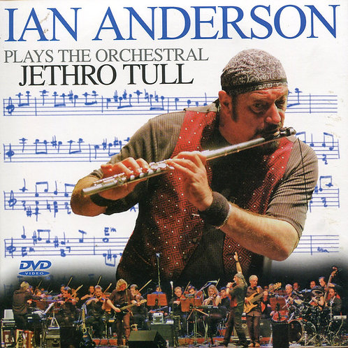 IAN ANDERSON 2xCD+DVD Plays The Orchestral Jethro Tull