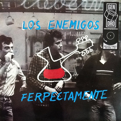 LOS ENEMIGOS LP+CD Ferpectamente