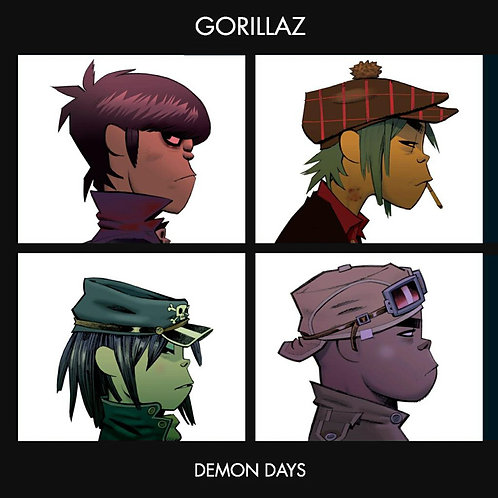 GORILLAZ 2xLP Demon Days