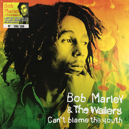 BOB MARLEY LP Can't Blame The Youth (Yellow Mixed Coloured Numbered Vinyl)