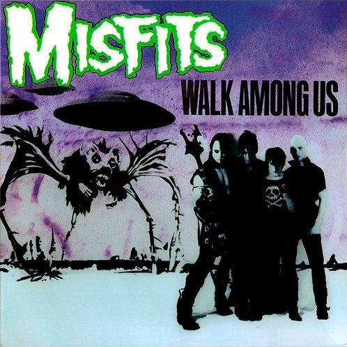 MISFITS LP Walk Among Us (Green Coloured Vinyl)