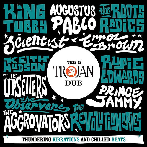 VARIOS 2XCD This Is Trojan Dub (Thundering Vibrations And Chilled Beats)