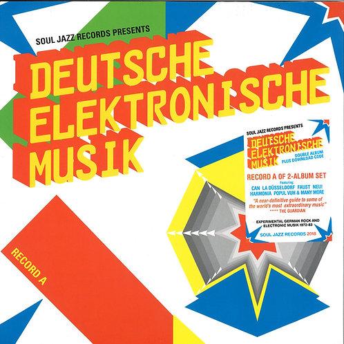VARIOUS 2xLP Deutsche Elektronische Musik Record A