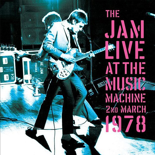 THE JAM 2xLP Live At The Music Machine 2nd March 1978