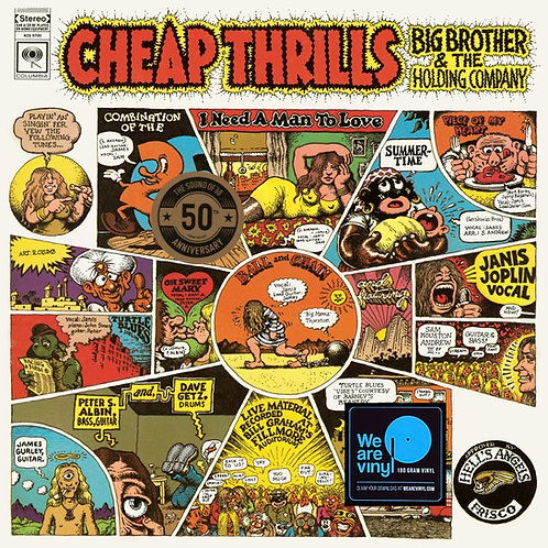 JANIS JOPLIN LP Cheap Thrills (50th Anniversary)