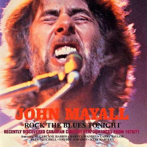 JOHN MAYALL 2xCD Rock The Blues Tonight