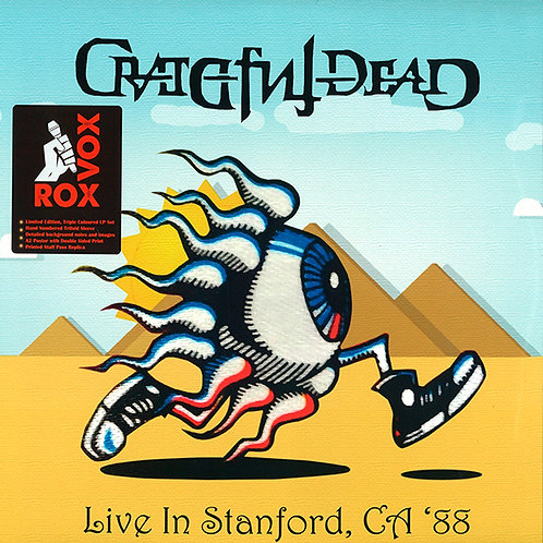 GRATEFUL DEAD 3xLP Live In Stanford, CA '88 (Numbered Coloured Vinyl)