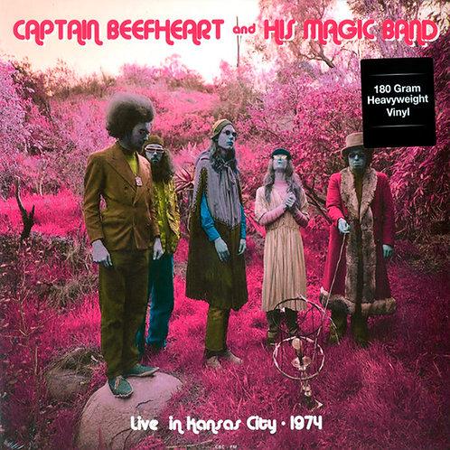 CAPTAIN BEEFHEART & HIS MAGIC BAND LP Live In Kansas City, 1974