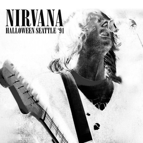 NIRVANA 2xLP Halloween Seattle '91 (White Coloured Vinyl + Etched)