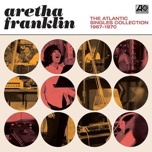 ARETHA FRANKLIN 2xLP The Atlantic Singles Collection 1967-1970