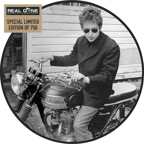 BOB DYLAN LP Bob Dylan First Album (Picture Disc)
