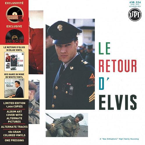 ELVIS PRESLEY 2xLP Le Retour D'Elvis / His Hand In Mine RSD 2016 Coloured Vinyl