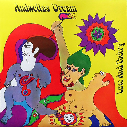 ANDWELLAS DREAM LP Love And Poetry (UK Psychedelic Classic)
