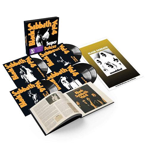 BLACK SABBATH BOX SET 5xLP Vol 4 (Super Deluxe Edition)