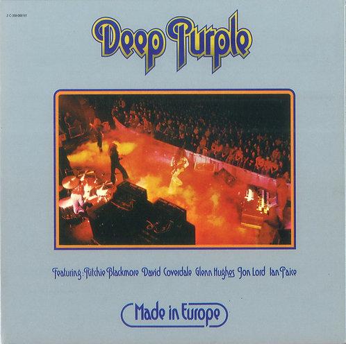 DEEP PURPLE CD Made In Europe (Mini Lp Replica Gatefold)