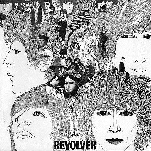 BEATLES LP Revolver (UK Reissue)