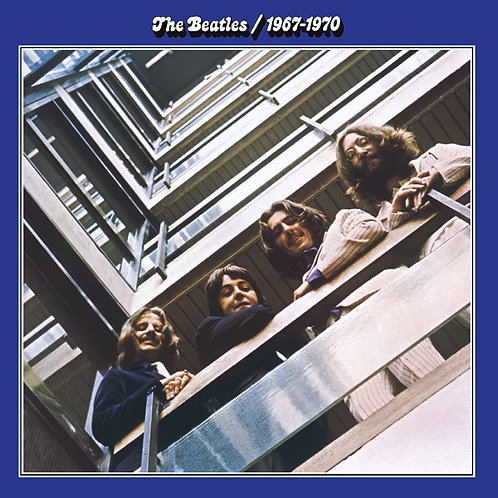 BEATLES 2xLP Blue Album 1967-1970
