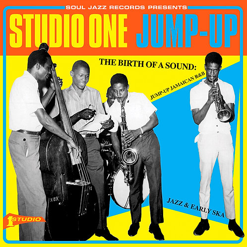 VARIOUS 2xLP Studio One Jump-Up