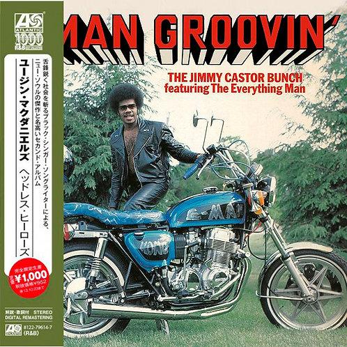 JIMMY CASTOR BUNCH CD E-Man Groovin' (Japan)