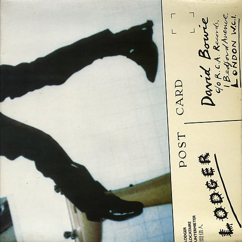 DAVID BOWIE LP Lodger (Green Coloured Vinyl)