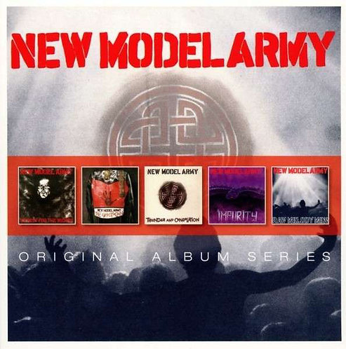 NEW MODEL ARMY BOX SET 5xCD Original Album Classics