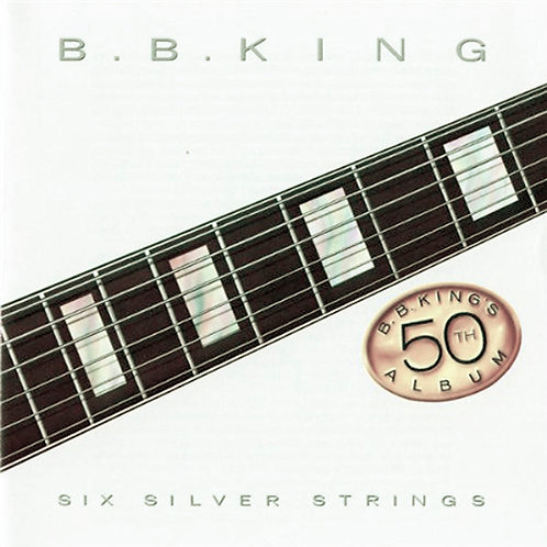 B.B. KING CD Six Silver Strings