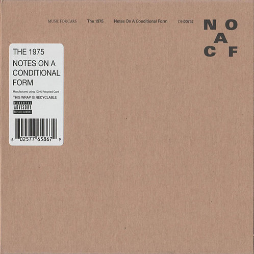 THE 1975 CD Notes On A Conditional Form