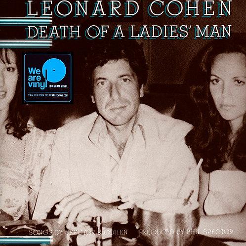 LEONARD COHEN LP Death Of A Ladies' Man