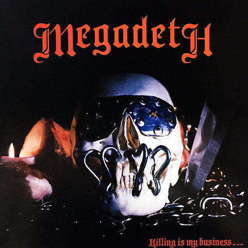 MEGADETH LP Killing Is My Business... And Business Is Good!