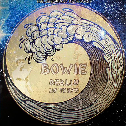 DAVID BOWIE LP Berlin In Tokyo (Clear Vinyl)