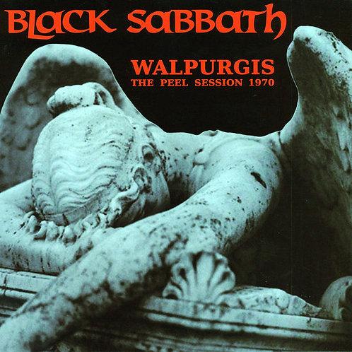 BLACK SABBATH LP Walpurgis - The Peel Session 1970 (Red Coloured Vinyl)
