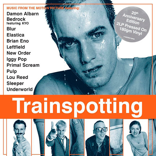 VARIOUS 2xLP Trainspotting (Music From The Motion Picture) 20th Anniversary