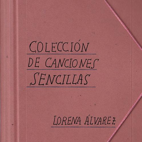 LORENA ÁLVAREZ LP Colección de Canciones Sencillas