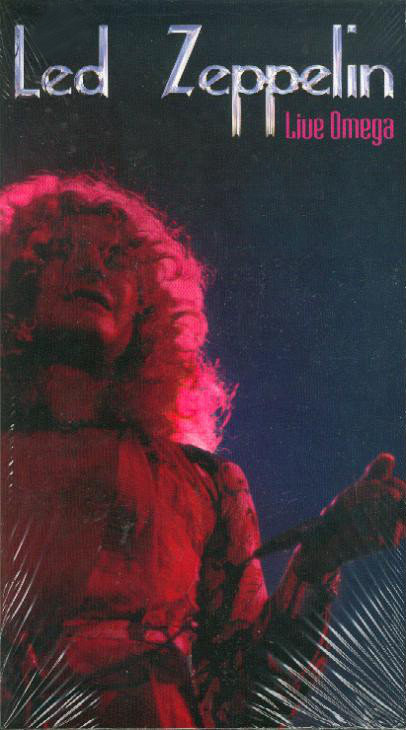 LED ZEPPELIN BOX SET 2xCD Live Omega (Longbox)