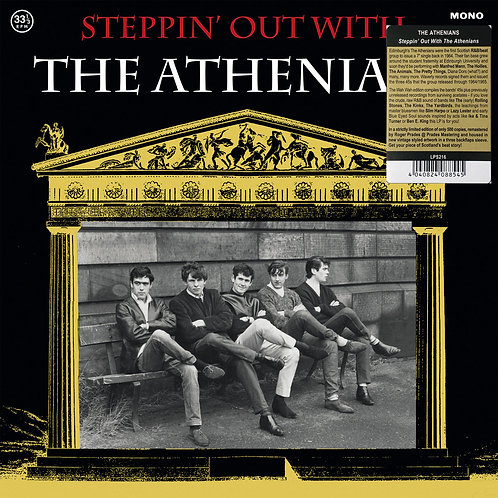 THE ATHENIANS LP Steppin' Out With The Athenians