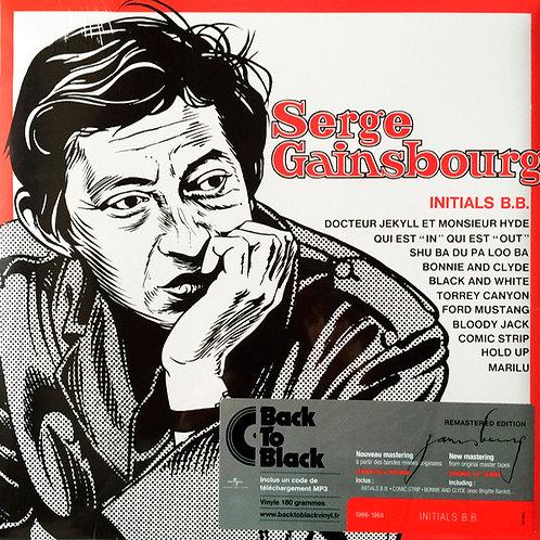 SERGE GAINSBOURG LP Initials B.B. (Remastered Edition)