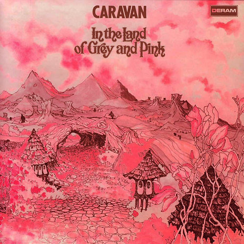 CARAVAN CD In The Land Of Grey And Pink (Mini Lp replica)