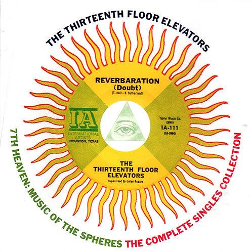 THE THIRTEENTH FLOOR ELEVATORS CD 7th Heaven: Music Of The Spheres
