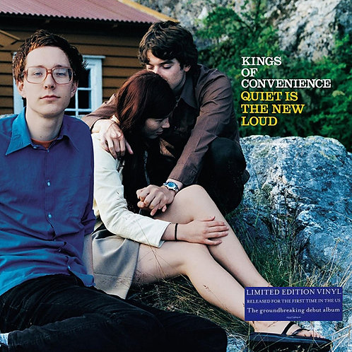 KINGS OF CONVENIENCE LP Quiet Is The New Loud