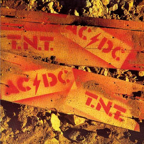 AC/DC CD T.N.T. (Australian Edition)