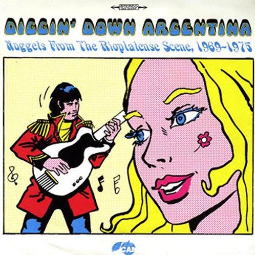 VARIOUS LP Diggin' Down Argentina 1969-1975
