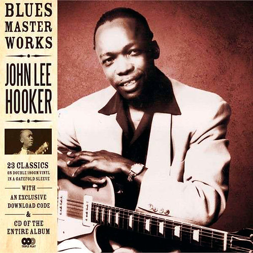 JOHN LEE HOOKER 2xLP+CD Blues Master Works