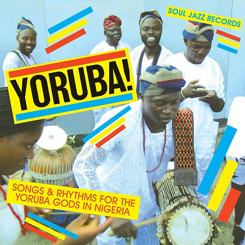 VARIOS 2xLP Yoruba! Songs & Rhythms For The Yoruba Gods In Nigeria