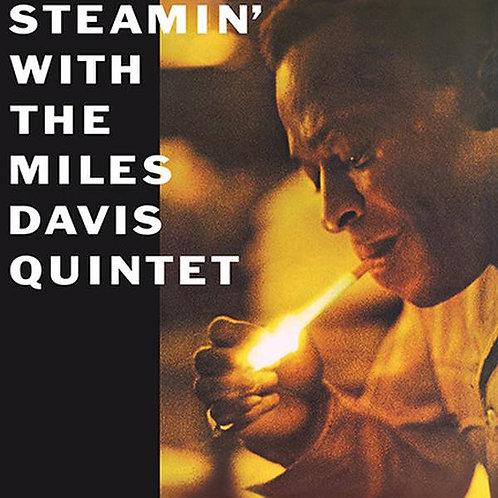 MILES DAVIS QUINTET LP Steamin' With The Miles Davis Quintet