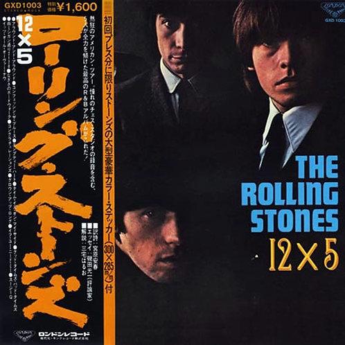 ROLLING STONES CD 12 X 5 (Japan)