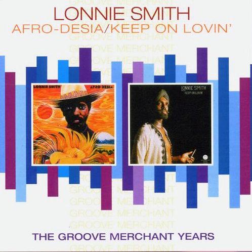 LONNIE SMITH CD Afro-Desia / Keep On Lovin'